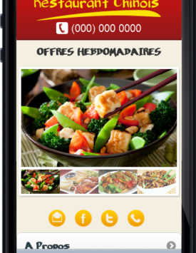 Template restaurant Chinois
